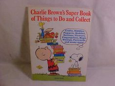 1975 CHARLIE BROWN SUPER BOOK THINGS TO DO & COLLECT