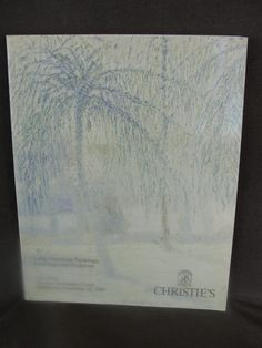 1989 Christies Auction Catalog Latin American Paintings Sculptures Drawings