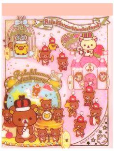 San-x Rilakkuma Wonderland Mini Memo Pad: Castle