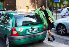 Street Style: Paris Fashion Week Spring 2015, Part 2 – Vogue Sung Hee Kim in Kenzo Photographed by Phil Oh