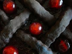 CAKE WITH CHERRY EYES