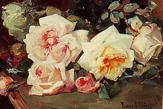 Franz Bischoff Roses. Good simple chunks of color.