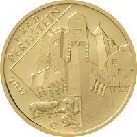 Numismatics | CZ coins | Zlatá mince ČNB 2017 - HRAD PERNŠTEJN | Aukro Coins, Personalized Items, Rooms