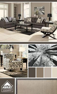 Popular Living Room Furniture - New Ideas Living Room Redo, Living Room Colors, Home Living Room, Living Room Designs, Popular Living Room Furniture, Home Furniture, Gray Furniture, Interior Exterior, Interior Design