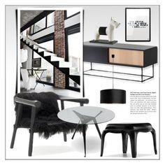 """Home Decor"" by lovethesign-eu ❤ liked on Polyvore featuring interior, interiors, interior design, maison, home decor, interior decorating, Authentics, Pedrali, Home et homedecor"