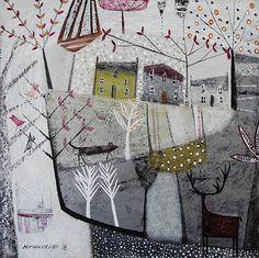 'And it began to snow' - Nikki Monaghan artist Edinburgh