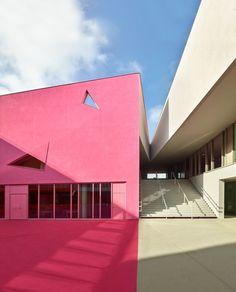 Grupo Escolar Simone Veil – Colombes – França – concursosdeprojeto.org