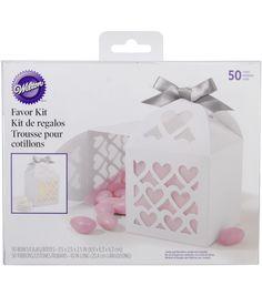 Favor Box Kit Makes 50-White Lace Paper LanternFavor Box Kit Makes 50-White Lace Paper Lantern,