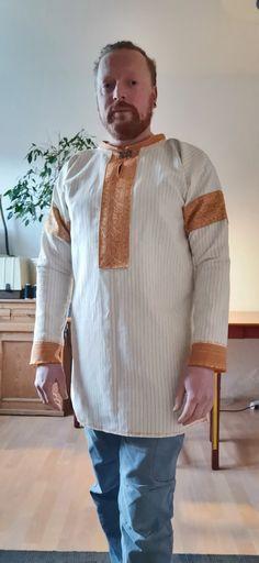 Rustunika Chef Jackets, High Neck Dress, Sewing, Dresses, Fashion, Vikings, Turtleneck Dress, Vestidos, Moda