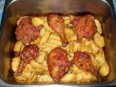 8 Korean Chicken Wings, Good Food, Yummy Food, Romanian Food, Cooking Recipes, Healthy Recipes, Hungarian Recipes, Getting Hungry, Chicken Recipes