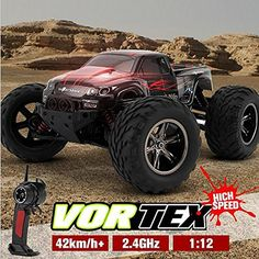9115 RC Truck 1/12 2.4GHz RC Monster RTR with 42km/h High Speed Stunt Remote Control Car Monster Truck