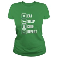 Eat Sleep № Code T-shirtsCover your body with amazing Eat Sleep Code t-shirtseatsleepcode
