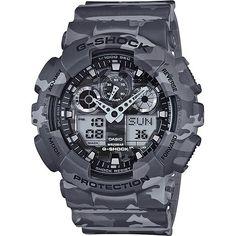 Casio G-Shock Men's Watch in Camouflage Grey | Buy Fashion