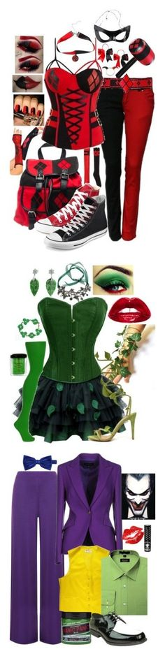 """Halloween Costume Ideas"" by secretsoftheslytherin ❤ liked on Polyvore featuring Converse, NYX, Bling Jewelry, WearAll, ESCADA and Manic Panic"