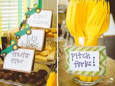 John Deere Themed Birthday Party
