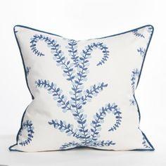 Prasana Pillow - Cap Cod Collection - Coastal Pillow - Beach Pillow