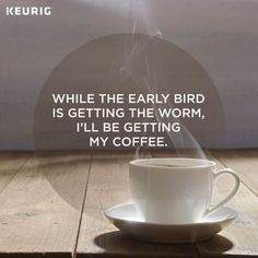This kind of coffee quotes morning seems to be completely brilliant, have to bear this in mind when I've a little bit of bucks saved. Coffee Talk, Coffee Is Life, I Love Coffee, Coffee Break, Morning Coffee, Coffee Coffee, Coffee Lovers, Coffee Facts, Coffee Quotes