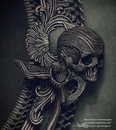 -Bone-, Anas Asghar on ArtStation at https://www.artstation.com/artwork/5RzJE