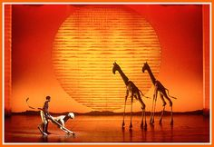 Saw the Lion King last night! This moment took my breath away!!! I was holding back tears during the entire first number...