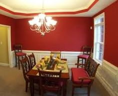 dining room wall colors dining room wall painting ideas love the half white. beautiful ideas. Home Design Ideas
