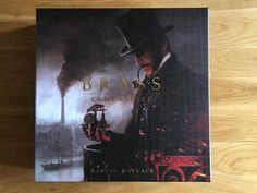 Brass: Lancashire is Roxley Games reimplementation of Martin Wallace's classic of the same name, it tells a story of The Industrial Revolution in NW England Tabletop Board Games, Industrial Revolution, Battle, Brass, Rice