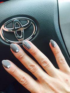 Upscale Nails - Norcross, GA, United States. Short almond shaped acrylics w/