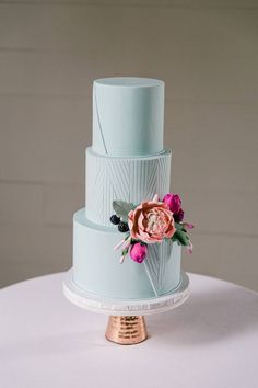 Slices of Heaven: Flavorful Wedding Cakes from Austin's Top Bakers & Cake: Sweet Treets Bakery Beautiful Wedding Cakes, Beautiful Cakes, Amazing Cakes, Modern Wedding Cakes, Unusual Wedding Cakes, Pretty Cakes, Cute Cakes, Cake Simple, Baker Cake