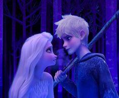Jack Frost Und Elsa, Jake Frost, Jack And Elsa, Frozen Elsa And Anna, Anna Disney, Disney Frozen Elsa, Olaf Frozen, Disney Fan Art, Cute Disney