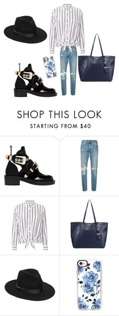 """Untitled #442"" by outfits614 on Polyvore featuring Balenciaga, Levi's, Equipment, Prada, Lack of Color and Casetify"