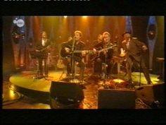 """BHV during a performance on the Belgian TV. """"Vrouw voor het raam"""" is from the album: Aardige jongens (2008)"""