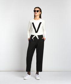 Vanilia shirt & pants #vanilia #kleding #clothes #outfit #blackandwhite