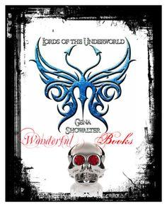 """""""Lords of the Underworld ovvero  I Signori degli Inferi di Gena Showalter -Libri-"""" by giulaga on Polyvore featuring art"""