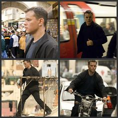 The Bourne Movies, but read the books, too!