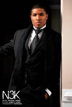 model: Michael Banks   stylist & photog: James C. Lewis www.noire3000studios.com