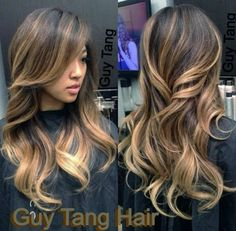 balayage ombre. - considering doing something like this when my hair starts to grow out