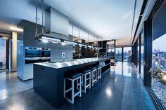 Penthouse Coppin de diseño contemporáneo / JAM arquitectos