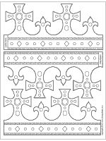 King Queen Crown Templates For Parties Or Dress Up