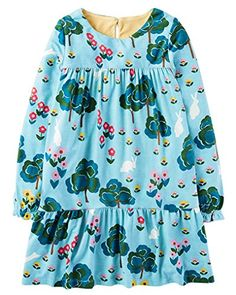 cd829b6ecc9 Girls Cotton Longsleeve Pocket Dresses Special Occasion Cartoon Print by  Size to manual measurement