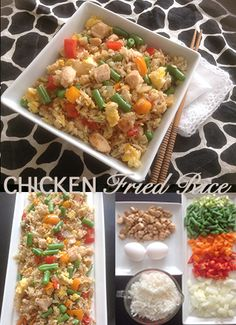 Gluten-Free Chinese Food - Chicken Fried Rice!