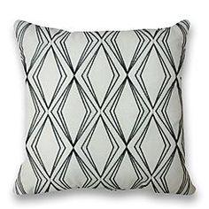 Silver Springs Decorative Pillow - Black Diamond