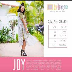 LuLaRoe Joy - Long, sheer vest