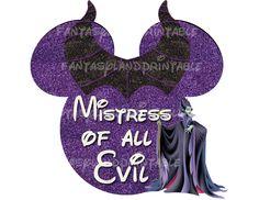 Disney Villains Maleficent Costume DIY by FantasylandPrintable, $5.00