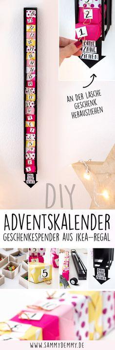 Christmas wonderland at IKEA Sindelfingen and DIY advent calendar - Diy Gifts Childrens Advent Calendar, Advent Calendar Diy, Advent Calendar Fillers, Advent Calendars For Kids, Christmas Calendar, Calendar Ideas, Christmas Wonderland, Calendrier Diy, Diys
