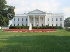 Washington DC White House ReflectingPool