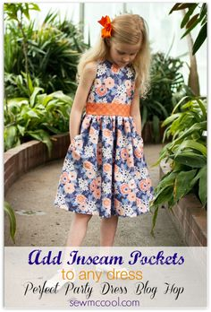 How to add side seam pockets to skirts – Perfect Party Dress Blog Hop