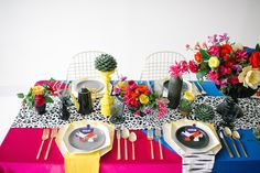 DVF Inspired Bridesmaid Party | Color Pop Events
