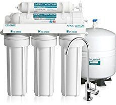 APEC Water Systems Essence Premium Quality Under-Sink Reverse Osmosis Drinking Water Filter System. Perfect for a tiny house! It consistently filters your water that you use. Never have to waste grey water again! Will purify and reuse. Sink Water Filter, Best Water Filter, Drinking Water Filter, Water Filters, Best Reverse Osmosis System, Reverse Osmosis Water Filter, Water Filtration System, Water Systems, Stage