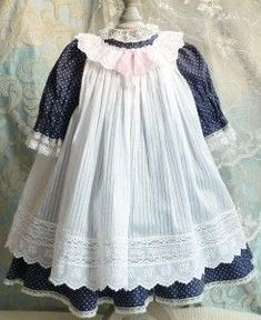 New baby clothes country dresses ideas - My favorite children's fashion list Baby Clothes Patterns, Doll Dress Patterns, Baby Doll Clothes, Clothing Patterns, Vestidos Country, Country Dresses, Country Outfits, Country Girls, American Girl Outfits