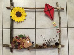 Autumn picture with natural sticks - Fall Crafts For Kids Cheap Fall Crafts For Kids, Easy Fall Crafts, Diy And Crafts, Valentine Day Crafts, Valentines, Autumn Nature, Fall Pictures, Nature Crafts, Activities For Kids