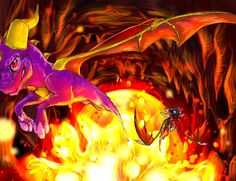 We need to fly faster by on DeviantArt Dragon Cave, Dragon Knight, Saw The Game, Spyro Trilogy, Spyro And Cynder, Spyro The Dragon, Cool Dragons, Female Dragon, Dragon Artwork